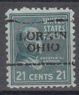 USA Precancel Vorausentwertung Preo, Locals Ohio, Lorain 701 - Precancels