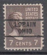 USA Precancel Vorausentwertung Preo, Locals Ohio, Lorain 729 - Precancels