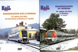 Train (2 Dvd) : En Cabine D'un BGC De Paris Bercy à Clamecy (58) - Documentary