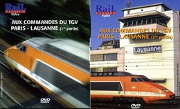 Train (2 Dvd) : Aux Commandes Du TGV Paris Lausanne (Suisse) - Documentary