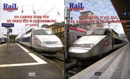 Train (2 Dvd) : En Cabine D'un TGV Paris Est Luxembourg - Documentary