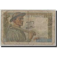 France, 10 Francs, 10 F 1941-1949 ''Mineur'', 1944, 1944-06-22, B, Fayette:8.12 - 1871-1952 Anciens Francs Circulés Au XXème
