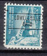 USA Precancel Vorausentwertung Preo, Locals Ohio, Lowellville 748 - Precancels
