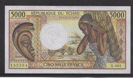 Tchad - 5000 Francs 1984/1991 - Pick N°11 - SPL - Chad