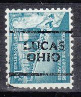USA Precancel Vorausentwertung Preo, Locals Ohio, Lucas 701 - Precancels