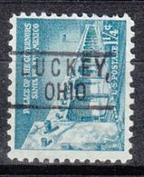 USA Precancel Vorausentwertung Preo, Locals Ohio, Luckey 801 - Vereinigte Staaten