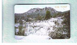 GRECIA (GREECE) -  1999 -  WINTER LANDSCAPE    - USED - RIF.   30 - Greece