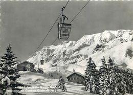 D1135 Switzerland SUISSE Pizol Cablecar Telpher Cableway Telecabine - GL Glarus