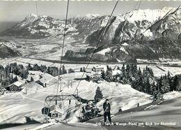 D1135 Switzerland SUISSE Pizol Ski Cableway - GL Glarus