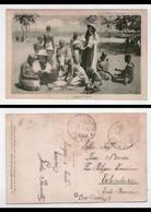 Cartolina Africa Meravigliosa. Serie XXVIII - Apostolato Di Suore. 1 - Scuola Di Cucito. 1930 - Cartoline