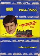 Catalogue Train Fleischmann  1964/1965 En 74 Pages Machine à Vapeur - Other Collections