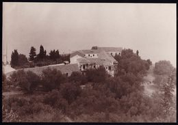 RARE LARGE PHOTO - VIEW OF ** MONASTERY OF KIPARIA CEPHALONIA ** - 21 X 15CM -  ! - Grèce