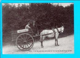 Cp  Cartes Postales - L Un Des Premiers Vehicules De L Entreprise De Chauffage Godest - Altri
