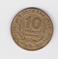 Rare 10 Francs Guinéens De L'indépendance. 1959 TTB - Guinée