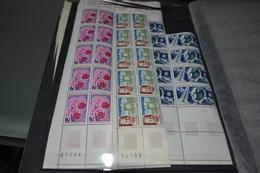 FRANCE Yvert 1526 à 1528 Neufs** En Bloc De 10 Et 9 Pour Le 1526 - Unused Stamps