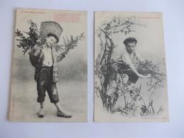Lot De 2 Cartes D'une Même Série Edtion Bergeret Nancy - Postcards