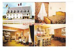 29 Plougastel Daoulas Hotel Kastel Roc'h Roch Carte 4 Vues Chambre Bar Salon CPM GF Carte Non Voyagée - Plougastel-Daoulas