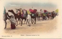 Algérie - BISKRA  Caravane Montant Le Teil - Biskra
