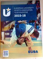 EUSA 2015-16 / European University Sports Magazine / Judo - Sports