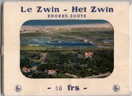 Le Zwin - Het Zwin - Knokke-Zoute 2x13 Postkaarten , Cartes Postales - Knokke