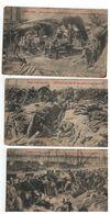 WO I :L'Armée Belge 1914 à Boortmeerbeek,Liége,Yser,Anvers ( 7 Cartes PhoB ) - Patriotiques