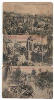 WO I :L'Armée Belge 1914 à Haelen,Yser,Sempst ( 5 Cartes PhoB ) - Patriotiques