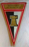 Chess / Flag, Pennant / Czechoslovakia, Libstat - Sports