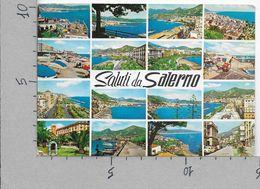 CARTOLINA VG ITALIA - Saluti Da SALERNO - Vedutine - 10 X 15 - ANN. 1965 - Salerno
