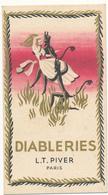Carte Parfumée - Diableries - L. T. Piver, Paris - Perfume Cards