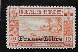 Nouvelles Hébrides N°125 - Neuf * - TB - French Legend