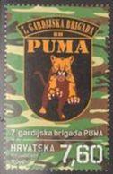 """HR 2017-1294 """"PUMA"""", HRVATSKA CROATIA, 1 X 1v, MNH - Kroatien"""