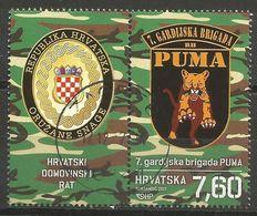"""HR 2017-1294 """"PUMA"""", HRVATSKA CROATIA, 1 X 1v + Label, MNH - Kroatien"""