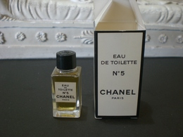 Parfum عطر духи Perfume CHANEL N.5  From Vintage Collection Mignon Complete Set - Miniatures Femmes (avec Boite)