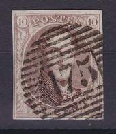 N° 10 A Margé 175 ENSIVAL - 1858-1862 Medallones (9/12)