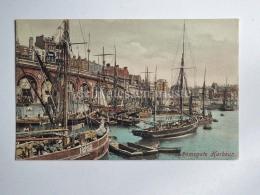UK KENT RAMSGATE Harbour Boat  Old Postcard - Ramsgate