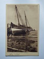 GERMANIA FINKENWERDER Seefischerei Kutter Boat Finkenwarder Old Postcard - Finkenwerder