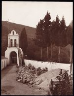1926 RARE LARGE PHOTO - VIEW OF ** MONASTERY OF KIPARIA CEPHALONIA ** - 21 X 16CM -  ! - Grèce