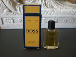 Parfum عطر духи Perfume HUGO BOSS SPIRIT From Vintage Collection Mignon Complete Set RARE !! - Miniatures Femmes (avec Boite)