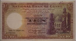 EGYPT  P. 23b 10 P 1945 VF - Aegypten