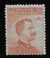 Italie N°105 - Neuf ** - TB - 1861-78 Victor Emmanuel II.