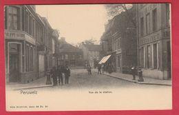 Peruwelz - Vue De La Station - 1907 ( Voir Verso ) - Péruwelz