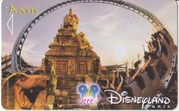 Disneyland Paris - Carte Entrée - 29-06-2000 - Autres Collections