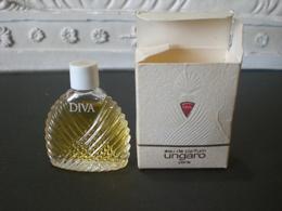 Parfum عطر духи Perfume UNGARO DIVA From Vintage Collection Mignon Complete Set RARE - Miniatures Men's Fragrances (in Box)