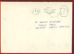 ESTONIA Letter Brief EE 150 Postal History TALLINN Franking Machine - Estonia