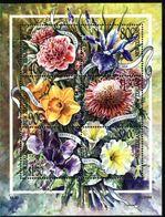 NEW ZEALAND, 2001, FLORA, FLOWERS, YV#B.146, SS, MNH - Plants
