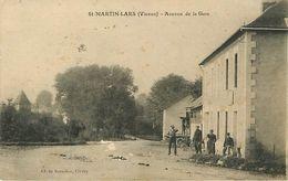 86 :Saint Martin Lars  - Avenue De La Gare - France