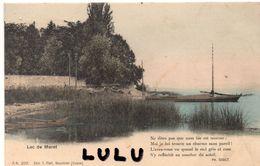 SUISSE : FR : Précurseur édit. T Pfaff N° 2217 : Lac De Morat Avec Un Vers De PH Godet - FR Fribourg