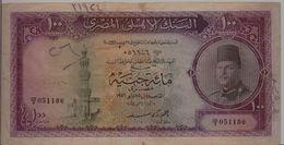 EGYPT  P. 27b 100 P 1951 Good - Aegypten