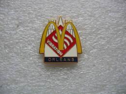 Pin's Du Mac Donald's De La Ville De ORLEANS - McDonald's