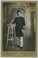 Cabinet Militaire Circa 1900 E. Meunier à Toulon . Un Marin . Marine Nationale . - Anciennes (Av. 1900)